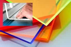 Acrylic sample colours